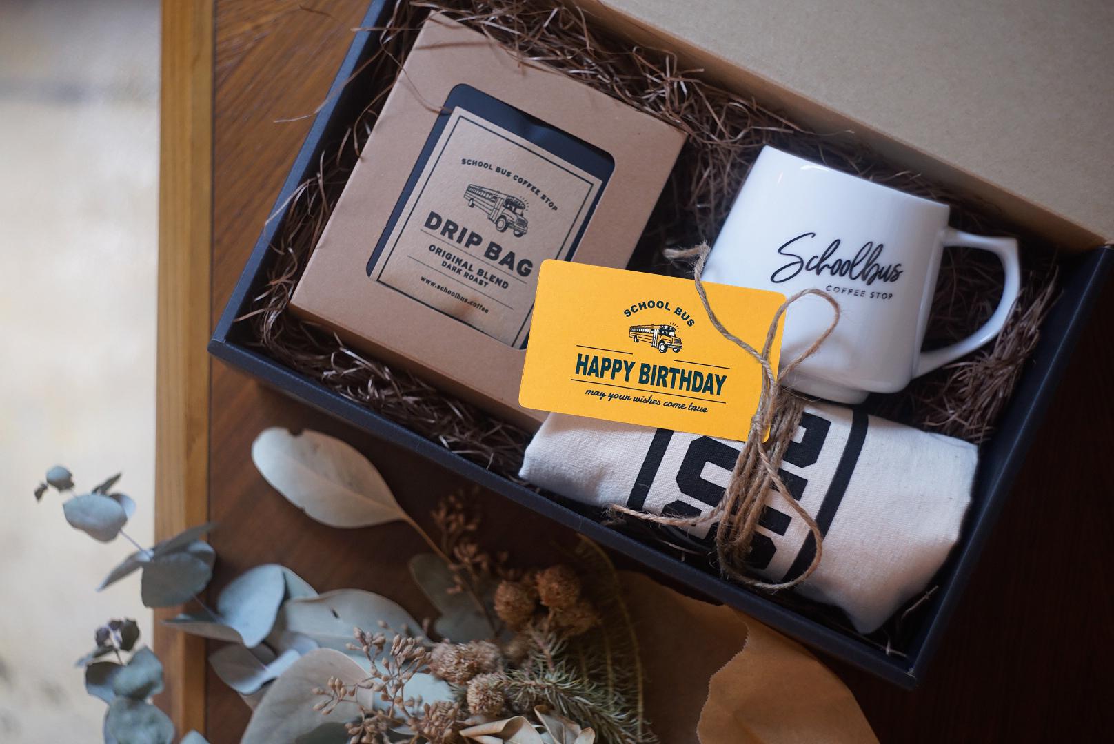Gift set【 Drip bag & Tote & Mug 】