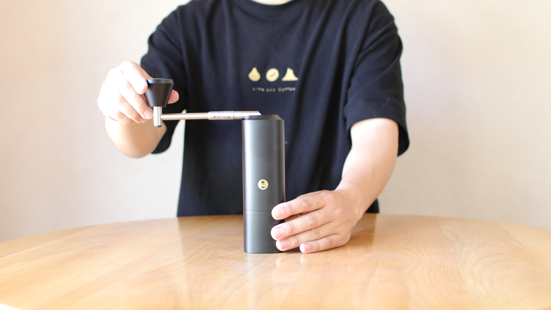 【次回、6月入荷予定】タイムモア X-black(手挽きミル)正規輸入/1年保証付