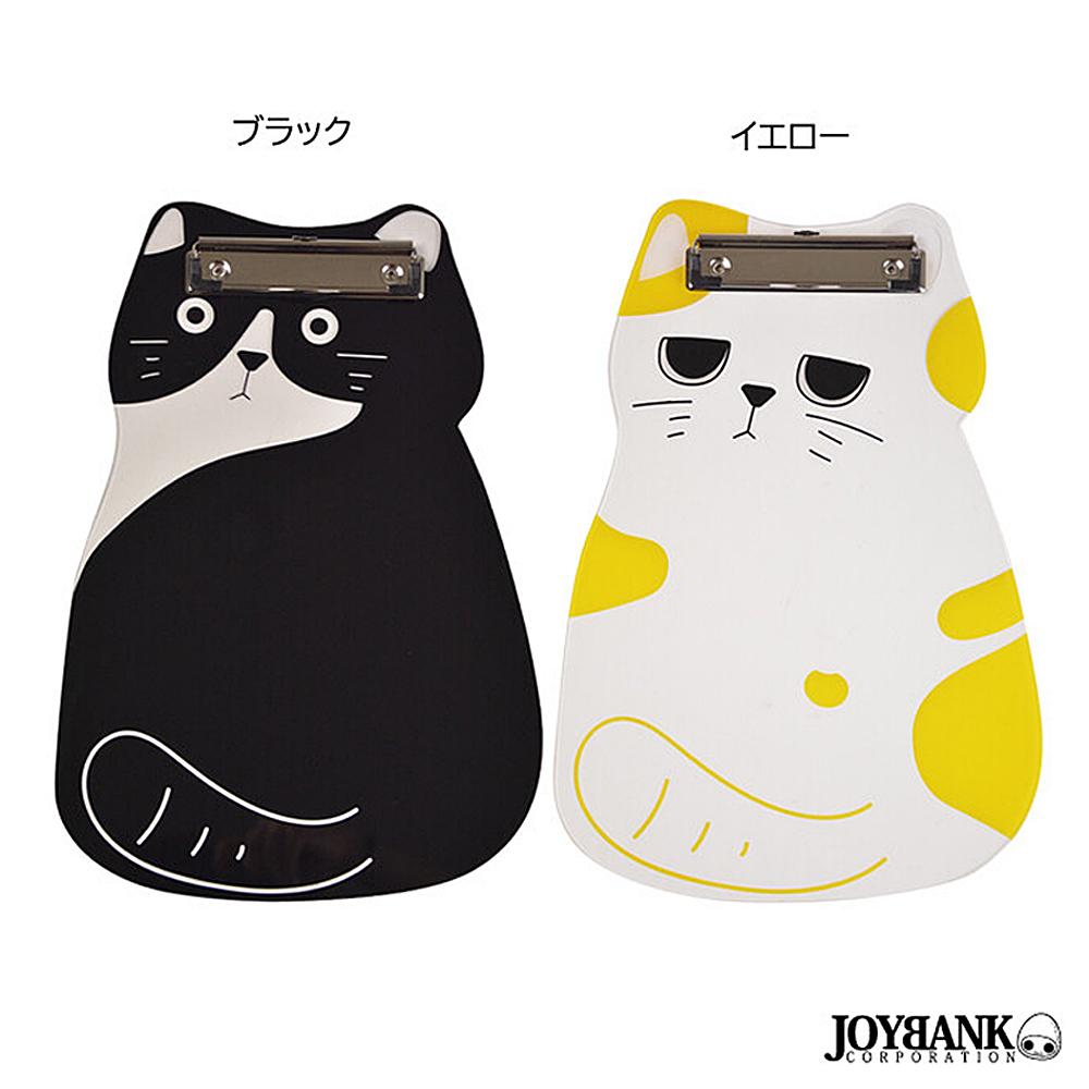 猫バインダー(ネコ型クリップボード)