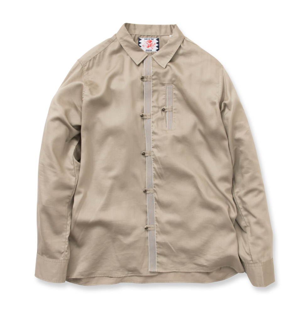 【SON OF THE CHEESE】 Hotel man shirts(GRAY)