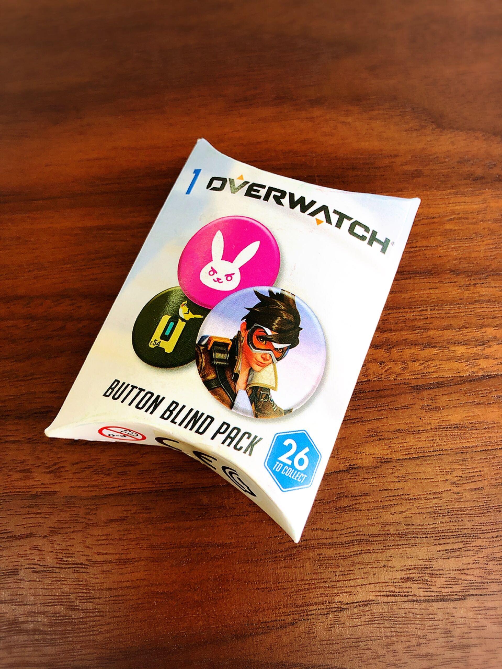 OWブラインド缶バッジ(3個入) オーバーウォッチ  / インフォレンズ