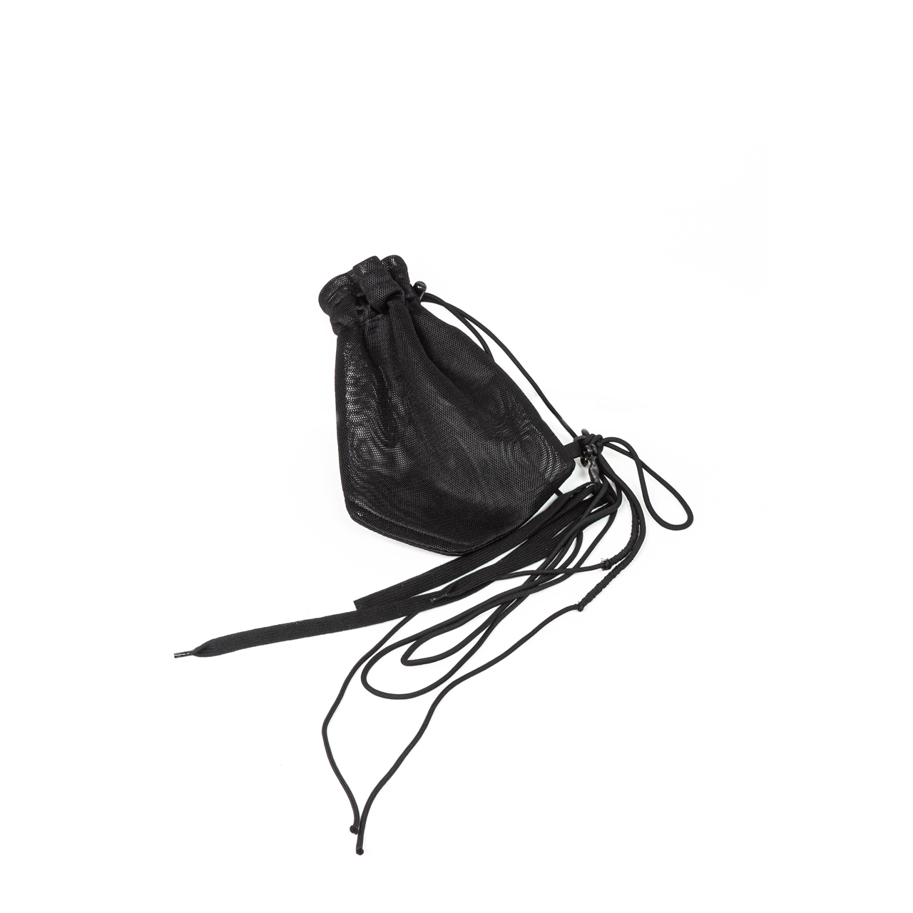 700BGU4-BLACK / ストラップメッシュバッグ