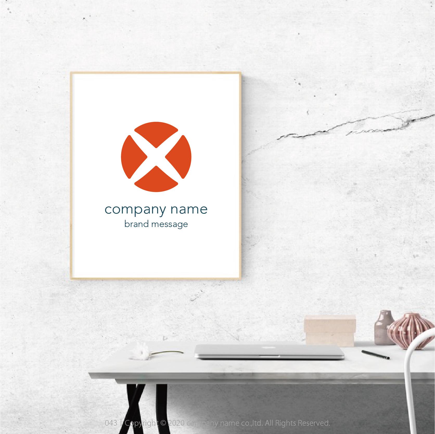Brand Logo Mark :043