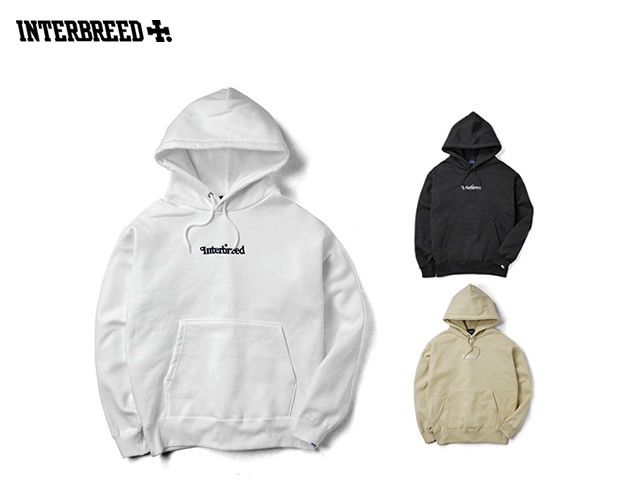 INTERBREED|Archive Logo Pullover Hoodie