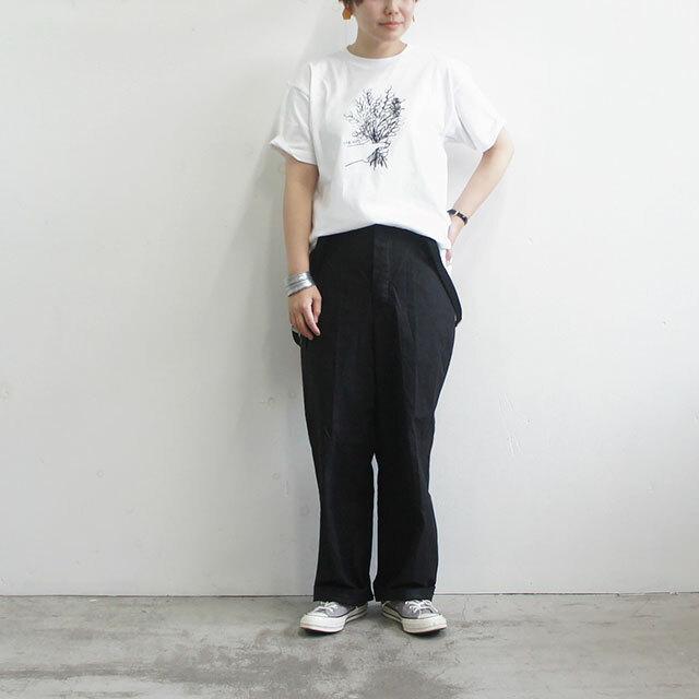 HARVESTY ハーベスティ FLOWERプリントTシャツ 正規取扱店 レディース Tシャツ ゆったり フラワー 花 イワサトミキ 通販 (品番a51907)