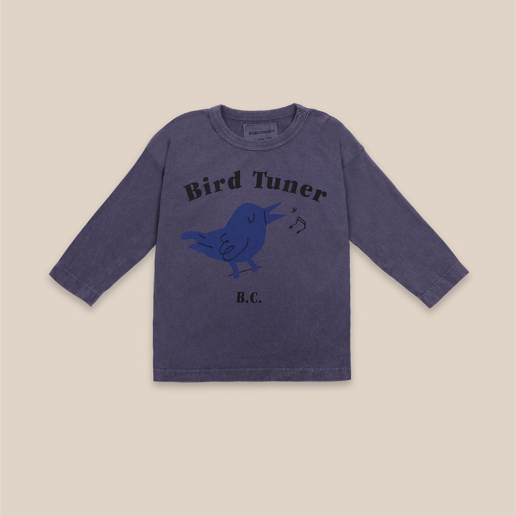 《BOBO CHOSES 2020AW》Bird Tuner long sleeve T-shirt / 6-36M