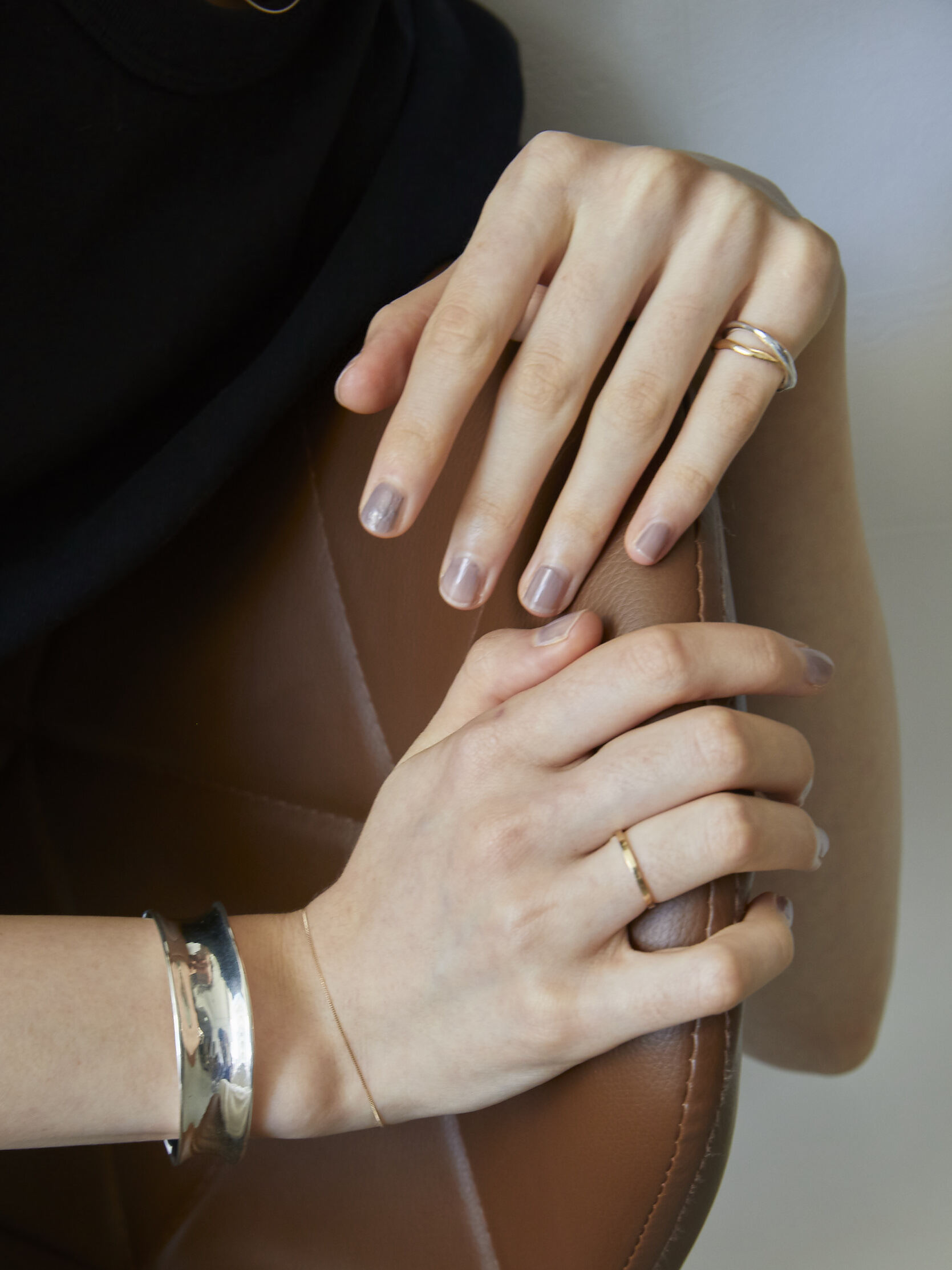 【受注生産】classic K18 ring (#7/9)