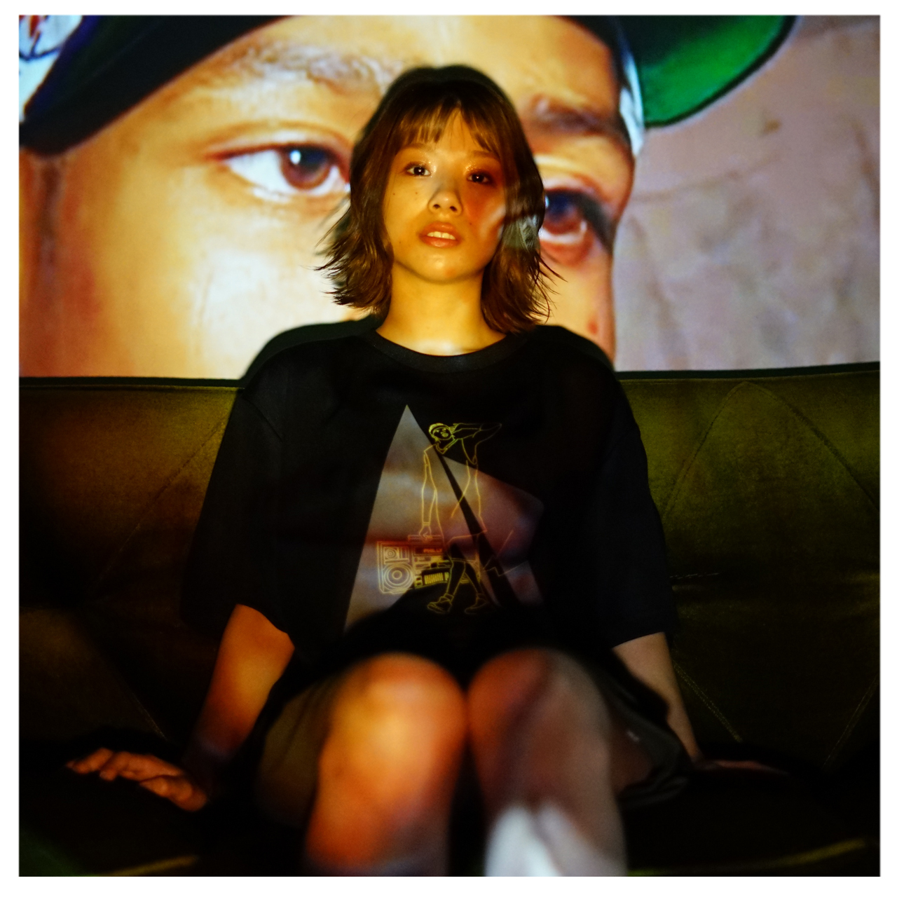 HipHop Philly S/S PL <Black×F.Yellow×D.Gray> - 画像3