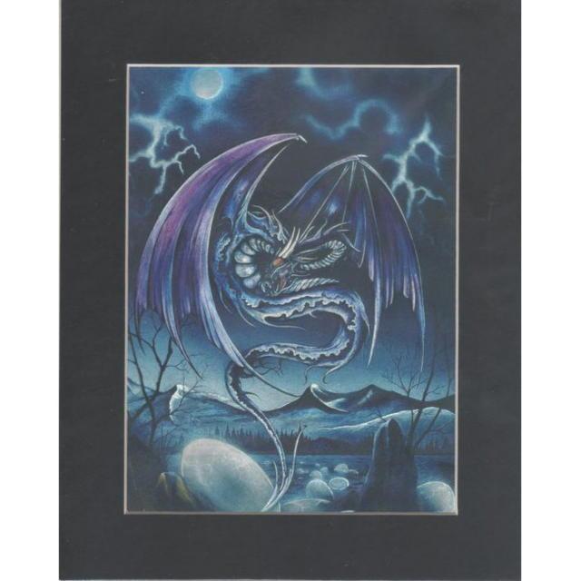【アルミ彫刻画】ドラゴンの復活[a384ms]