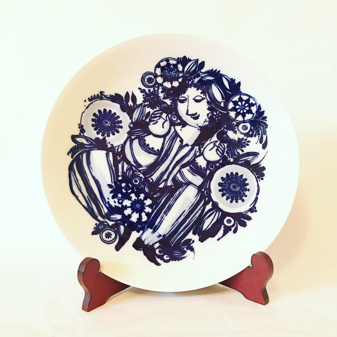 ROSEN THAL / ローゼンタール ・Bjorn Wiinblad / ヴィヨルン・ヴィンブラッド・ 飾り絵皿