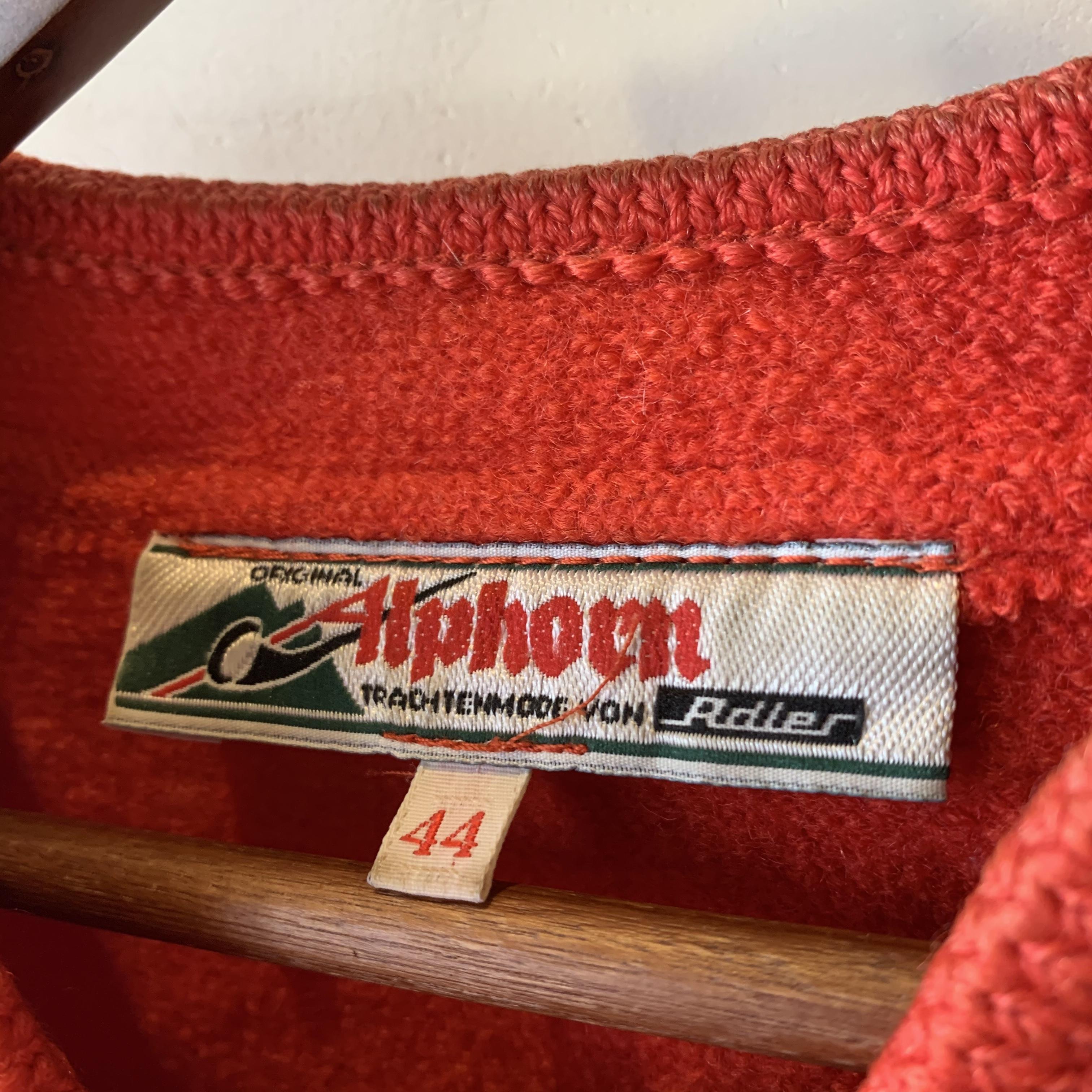 vintage wool tyrol tops