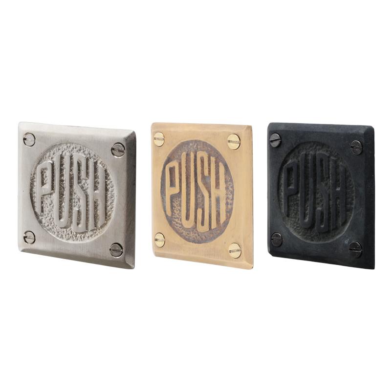 ドア・サイン 「PUSH」