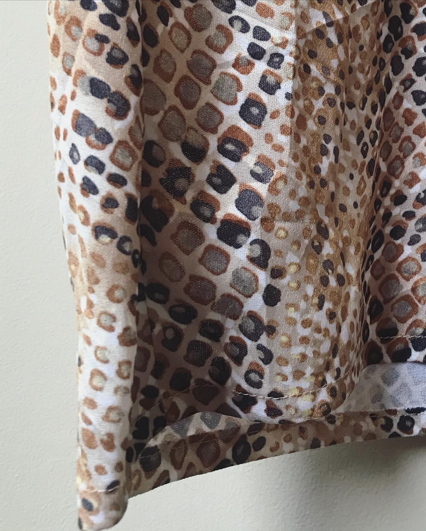 vintage leopard onepiece