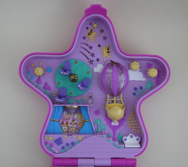 ポーリーポケット ファンタジーライト遊園地 ライトアップ 1993年 美品完品
