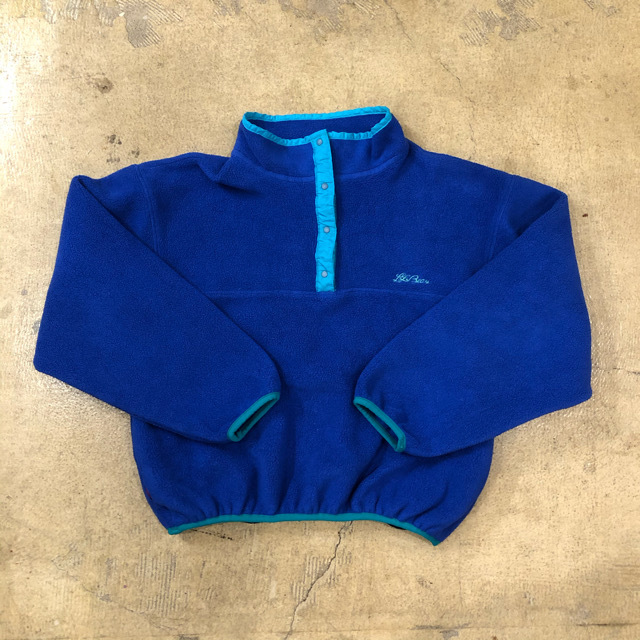 LLBEAN Fleece Pullover ¥5,900+tax