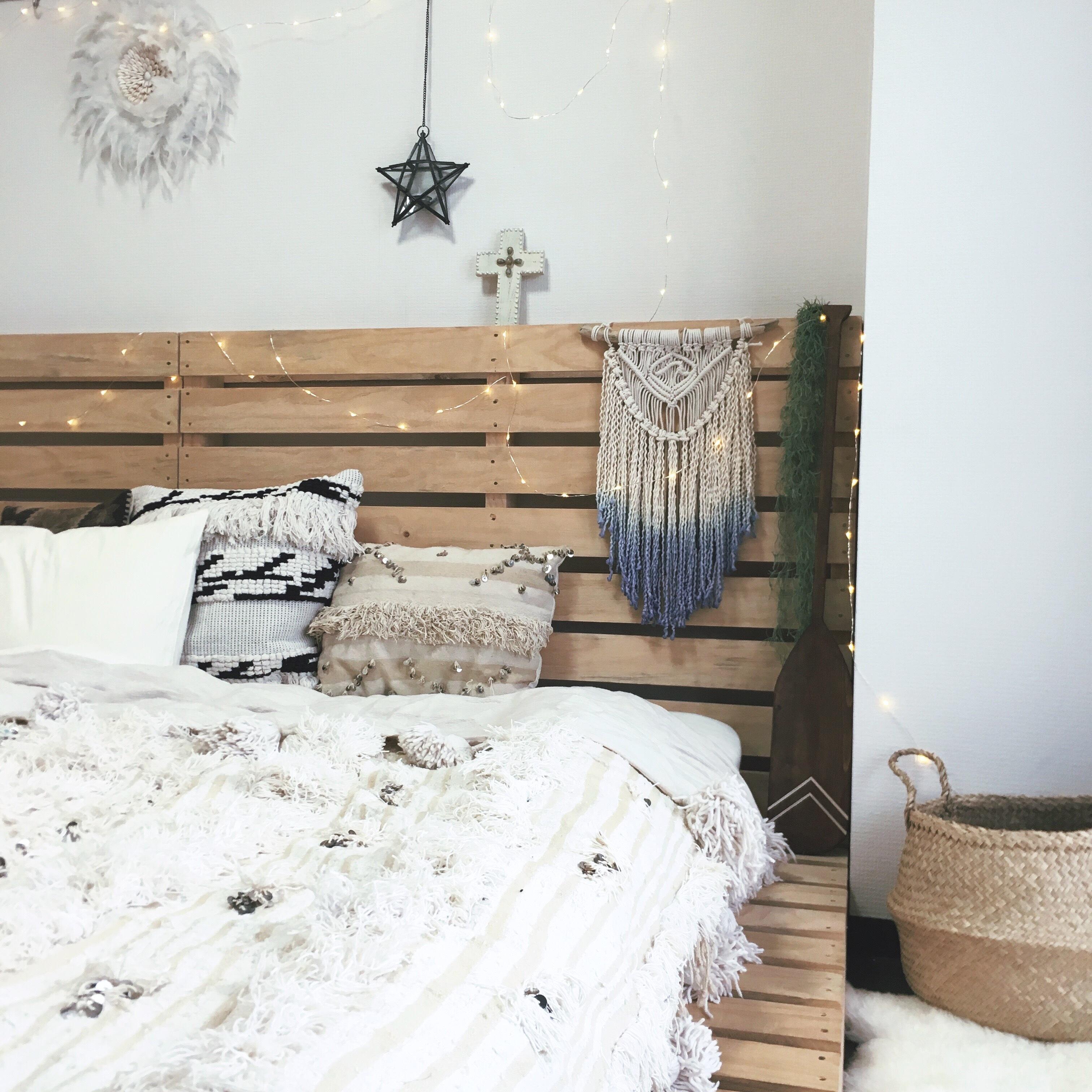 Macrame tapestry - dipdye × wave -