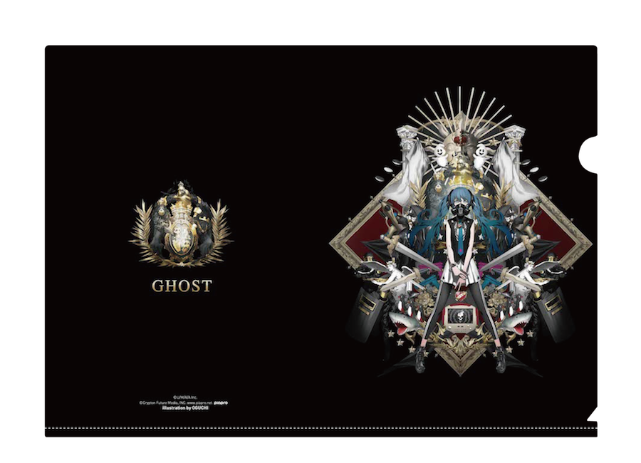 DECO*27 - 「GHOST」クリアファイルセット(2種入り) - 画像2