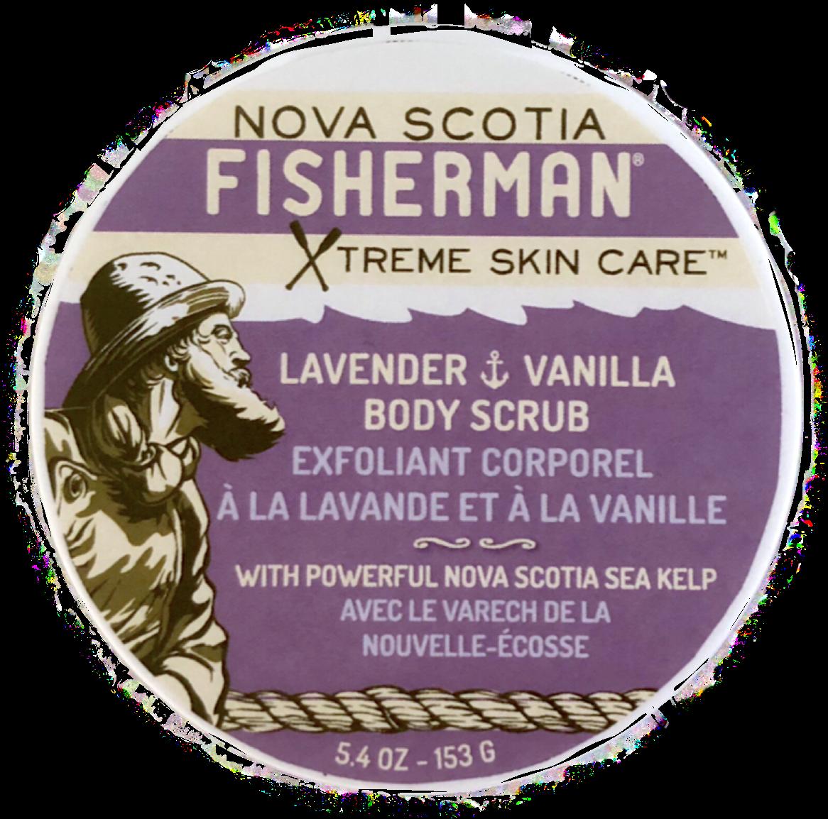 NOVA SCOTIA FISHERMAN(ノバスコシアフィッシャーマン) SALT-N-SEA BODY SCRUB ボディスクラブ ラベンダー&バニラ