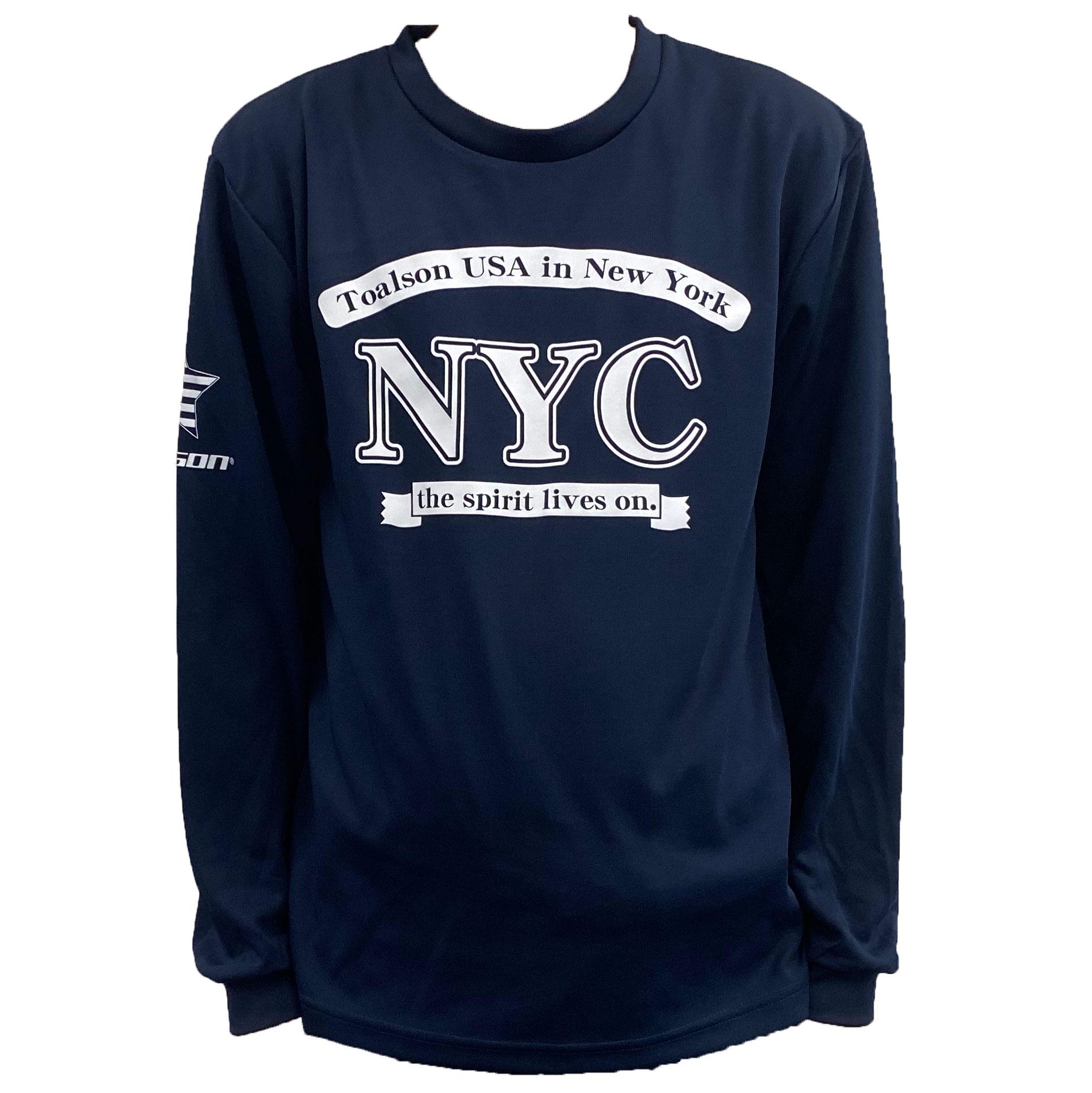 NYCロングTシャツ(ネイビー)