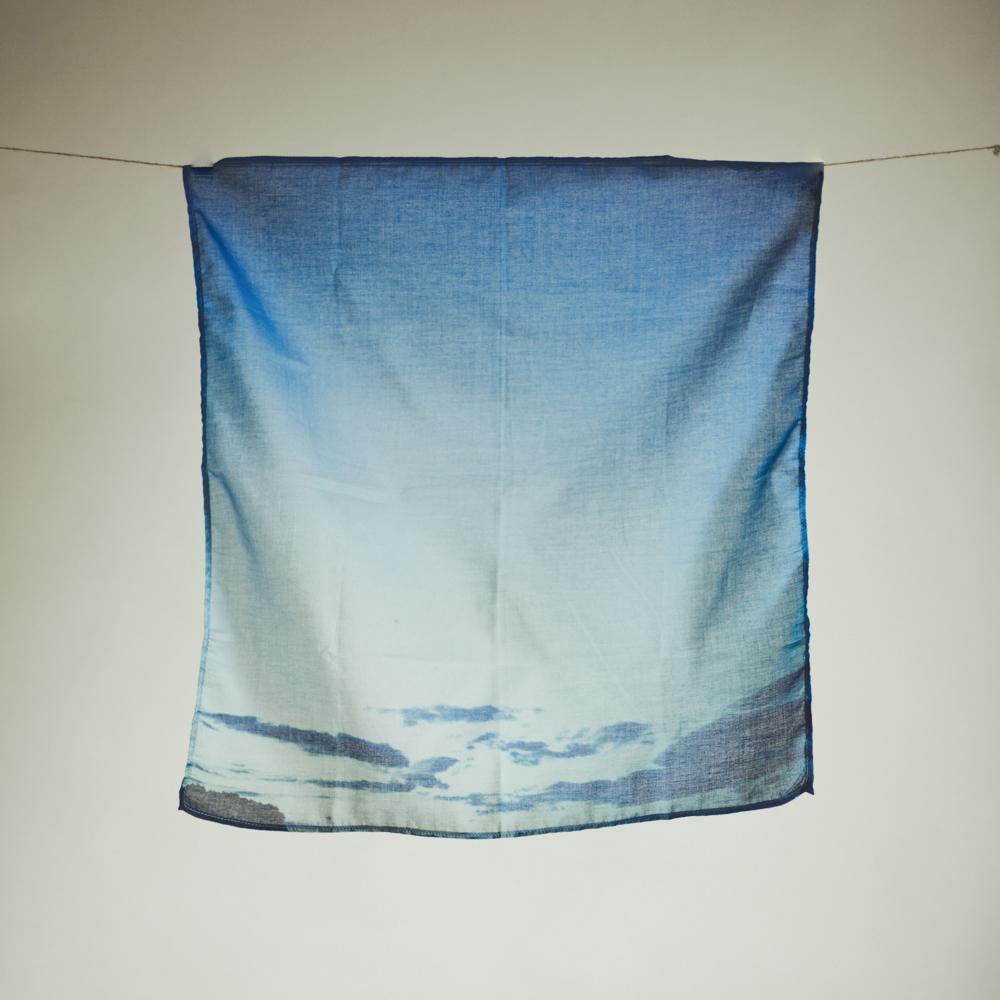 #11 ハンカチ / BLUE DAWN 送料無料