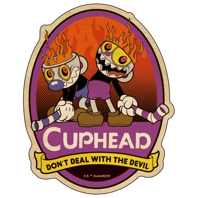 CUPHEAD ( カップヘッド )  トラベルステッカー (16)  / エンスカイ
