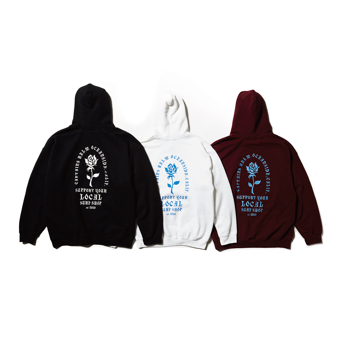 CAPTAINS HELM #Local Surf Shop Hoodie