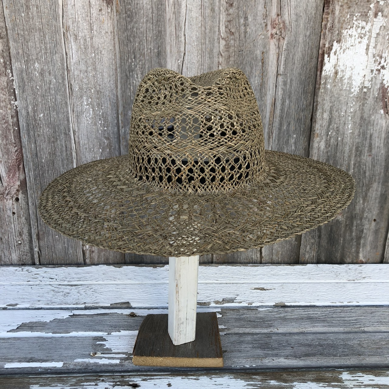 MARIHOJA #Kanpi Lace Border Hat