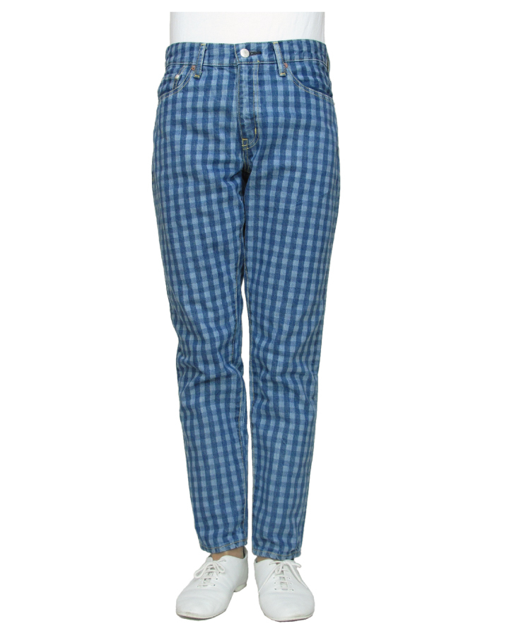 FS relax pencil  gingham-check color - 画像1