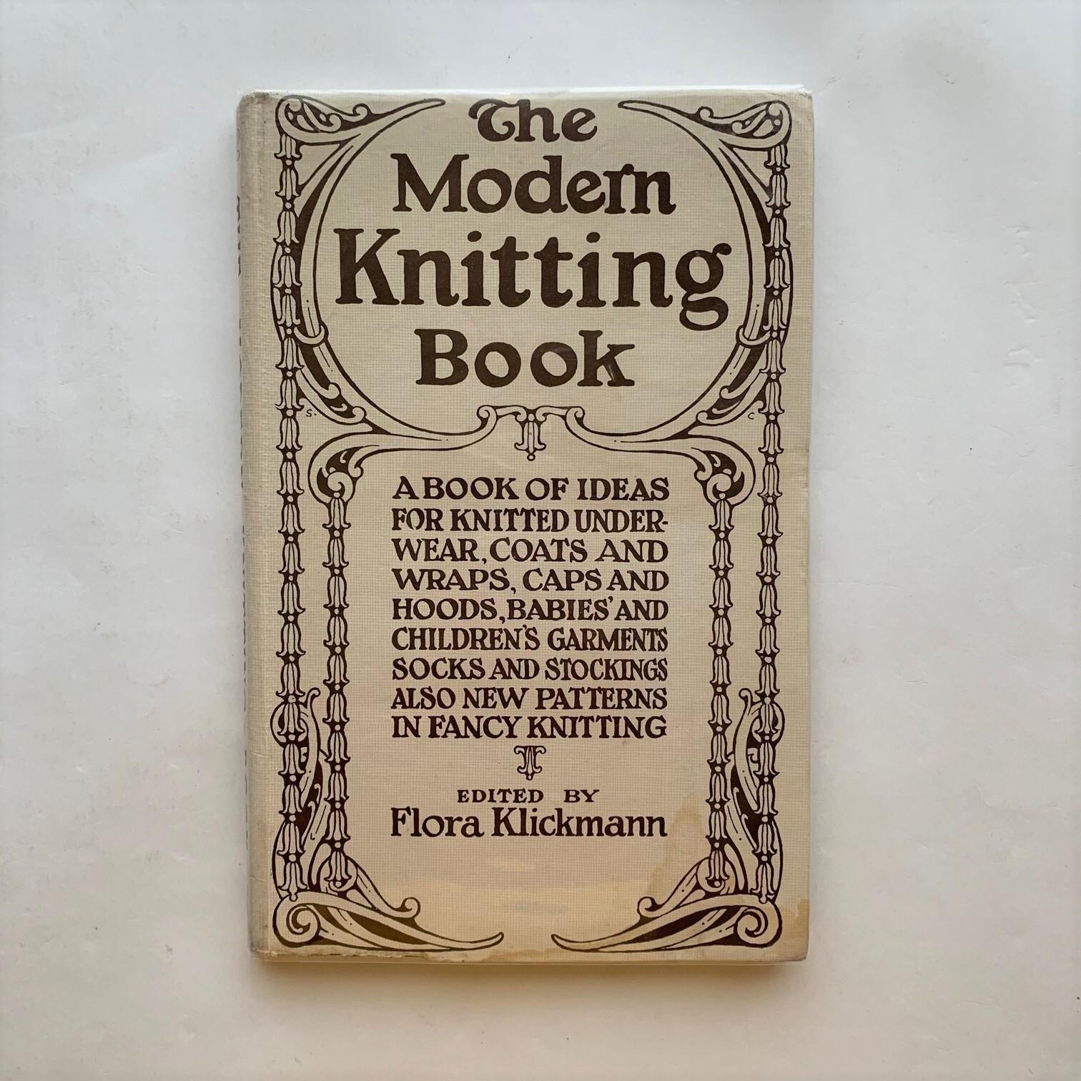 The Modern Knitting Book  /  Flora Klickmann /  フローラ・クリックマン