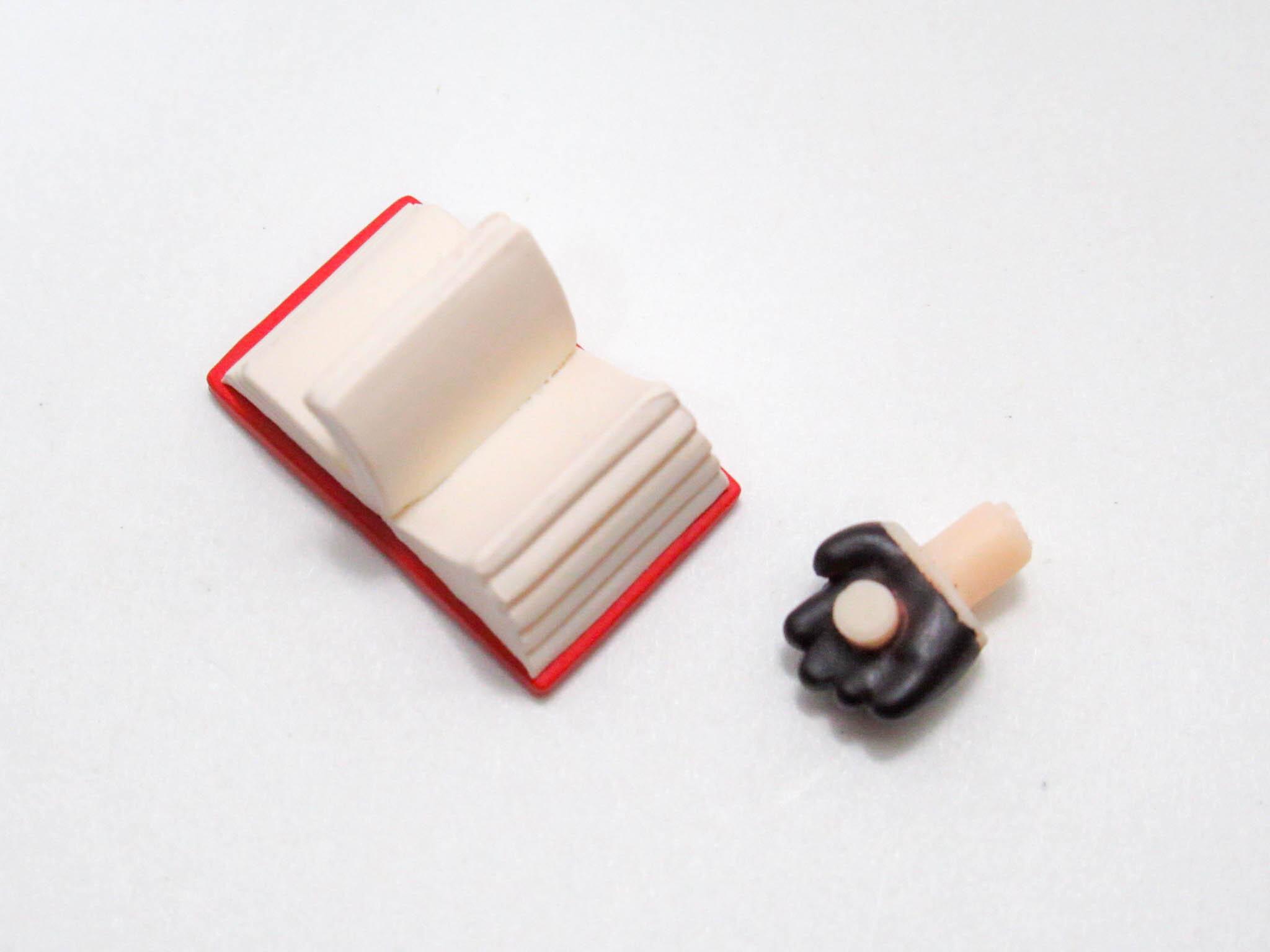 【SALE】【1182】 ロード・エルメロイⅡ世 小物パーツ 本 ねんどろいど