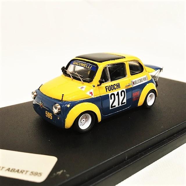 Fiat 500 Abarth 595 Giacomelli 1/43 【BV FIRENZE】 【税込価格】