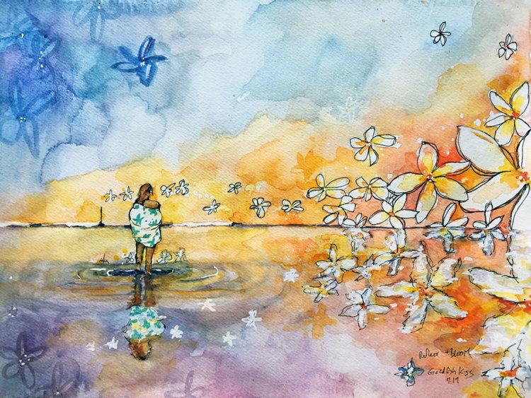 【GOLDFISH KISS】Reflect and Bloom 8×10