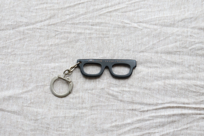 【フランス】メガネのキーホルダー/ R.MARTIN