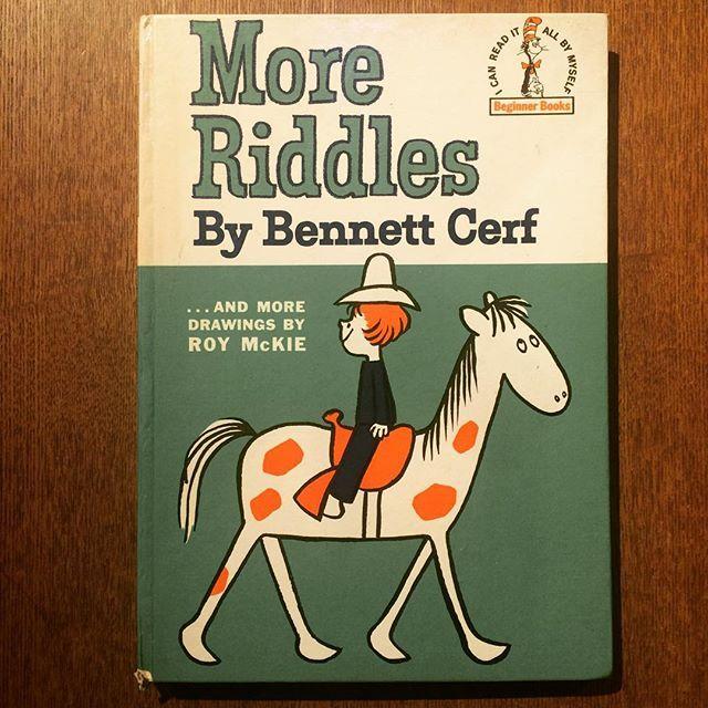 絵本「More Riddles/Bennett Cerf、Roy McKie」 - 画像1
