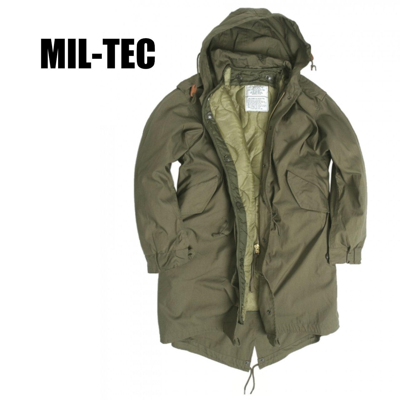 MIL-TEC M-51 フィールドパーカ 〈Olive Drab〉