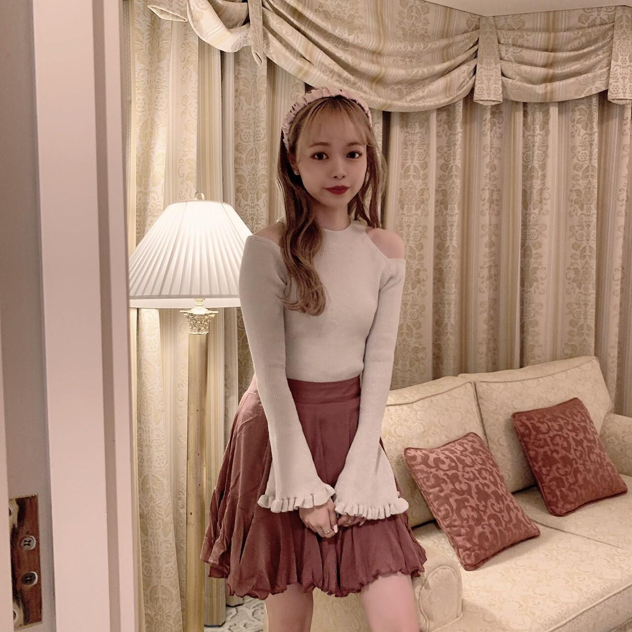 【meltie】millefeuille skirt