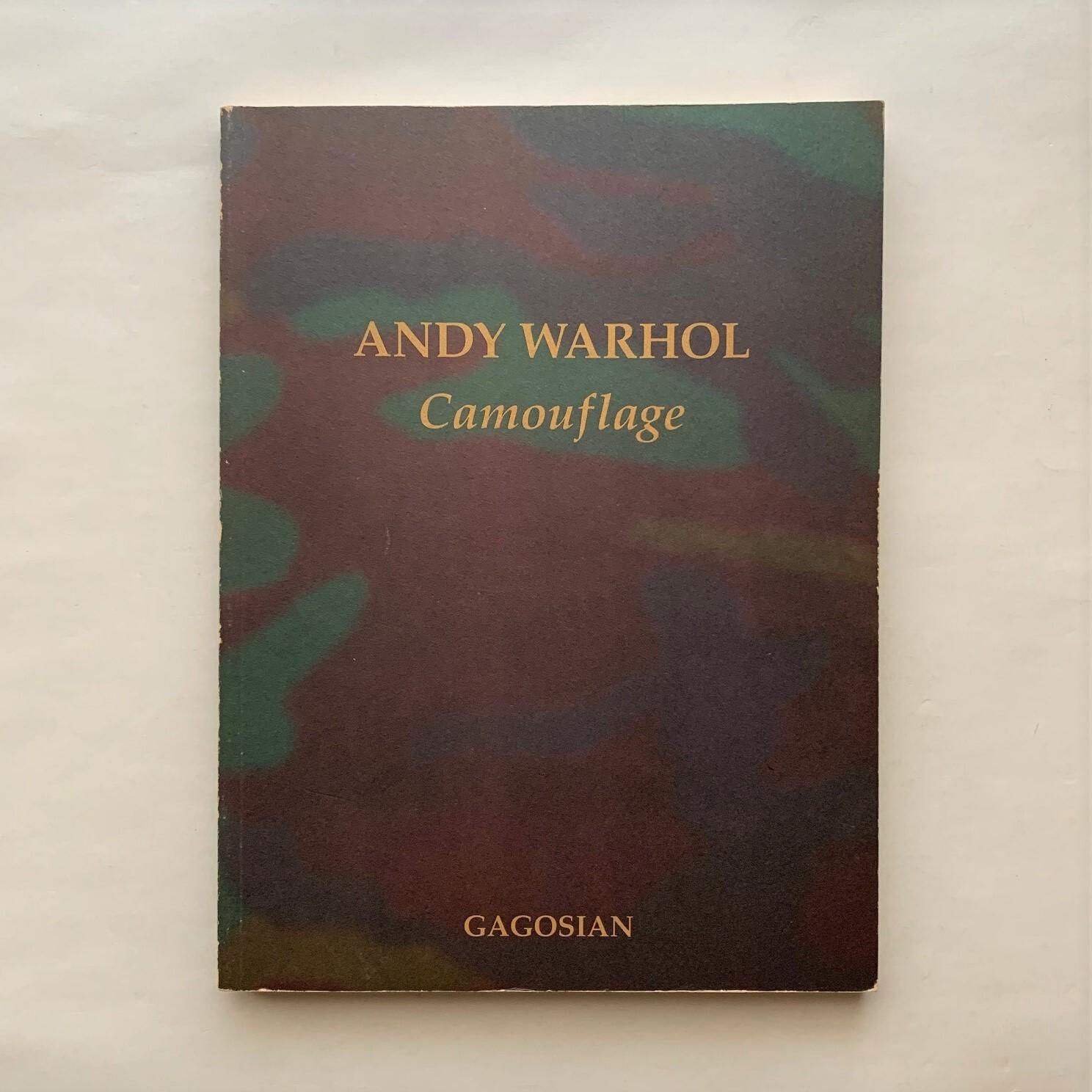 ANDY WARHOL / Camouflage / アンディ・ウォーホル