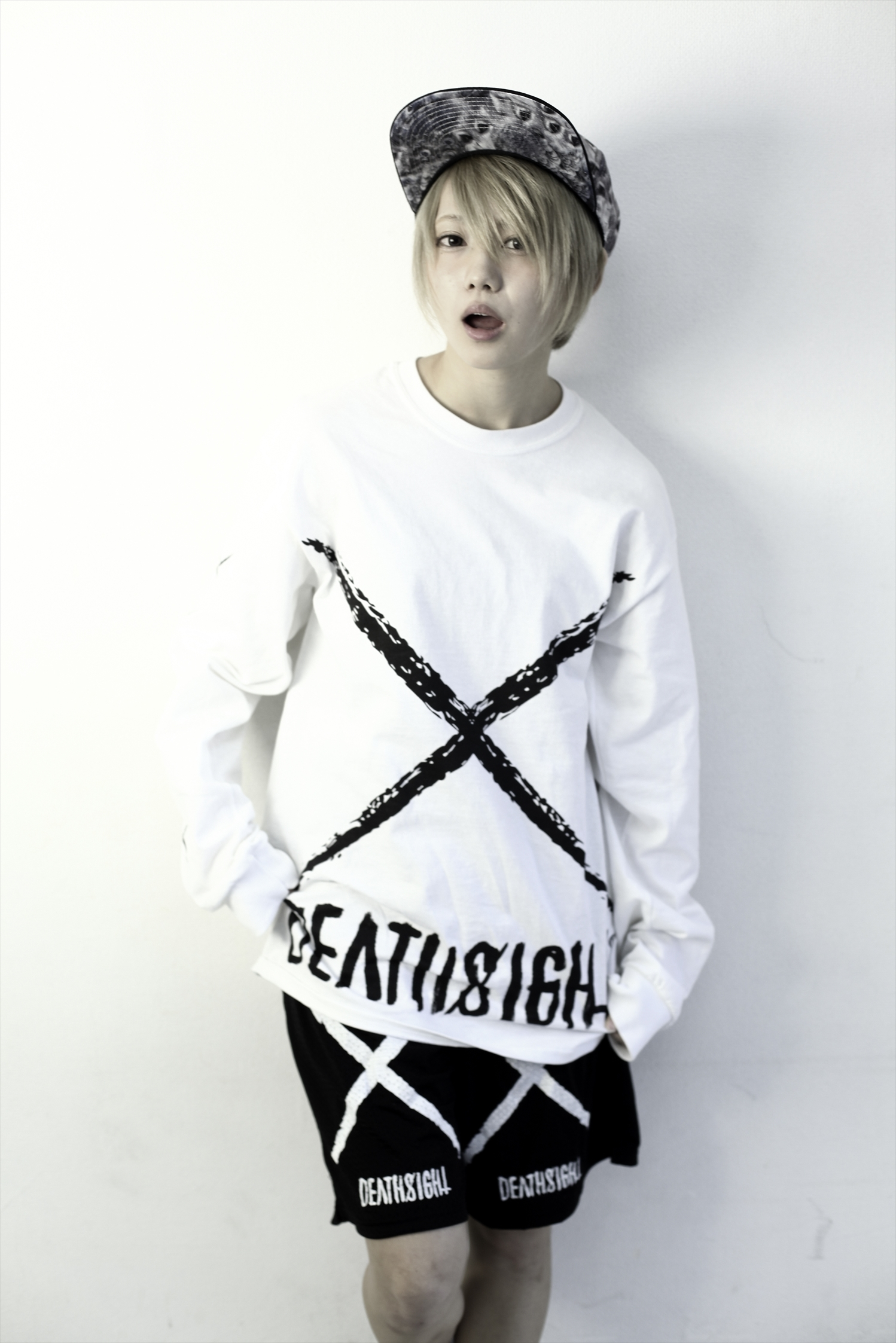 xxx L/S TEES WHITE - 画像4