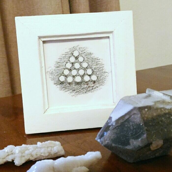 「15の玉」(複製画)◆ミニ額