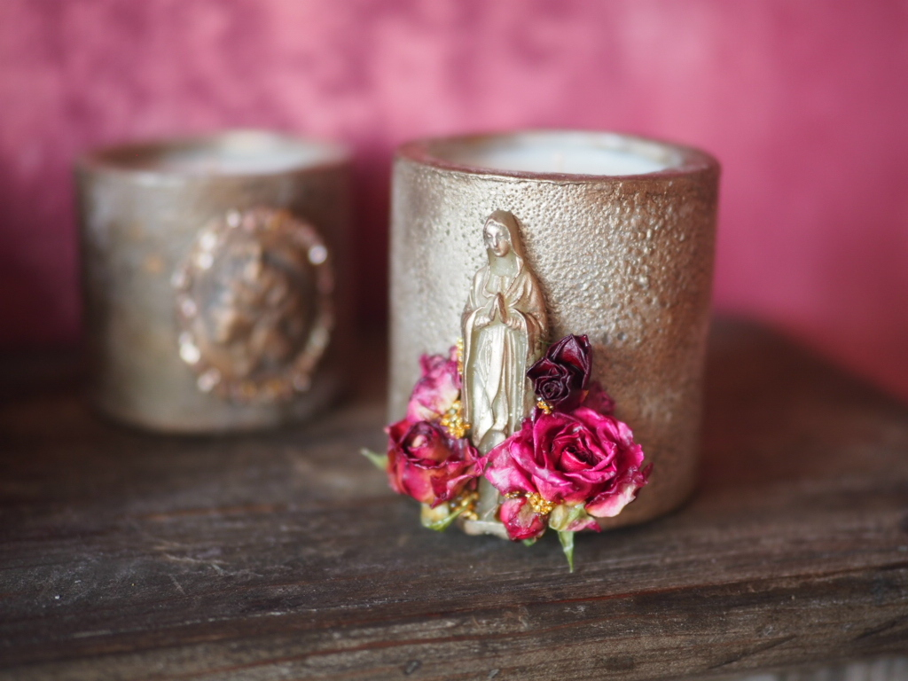 Vintage Maria Candle7