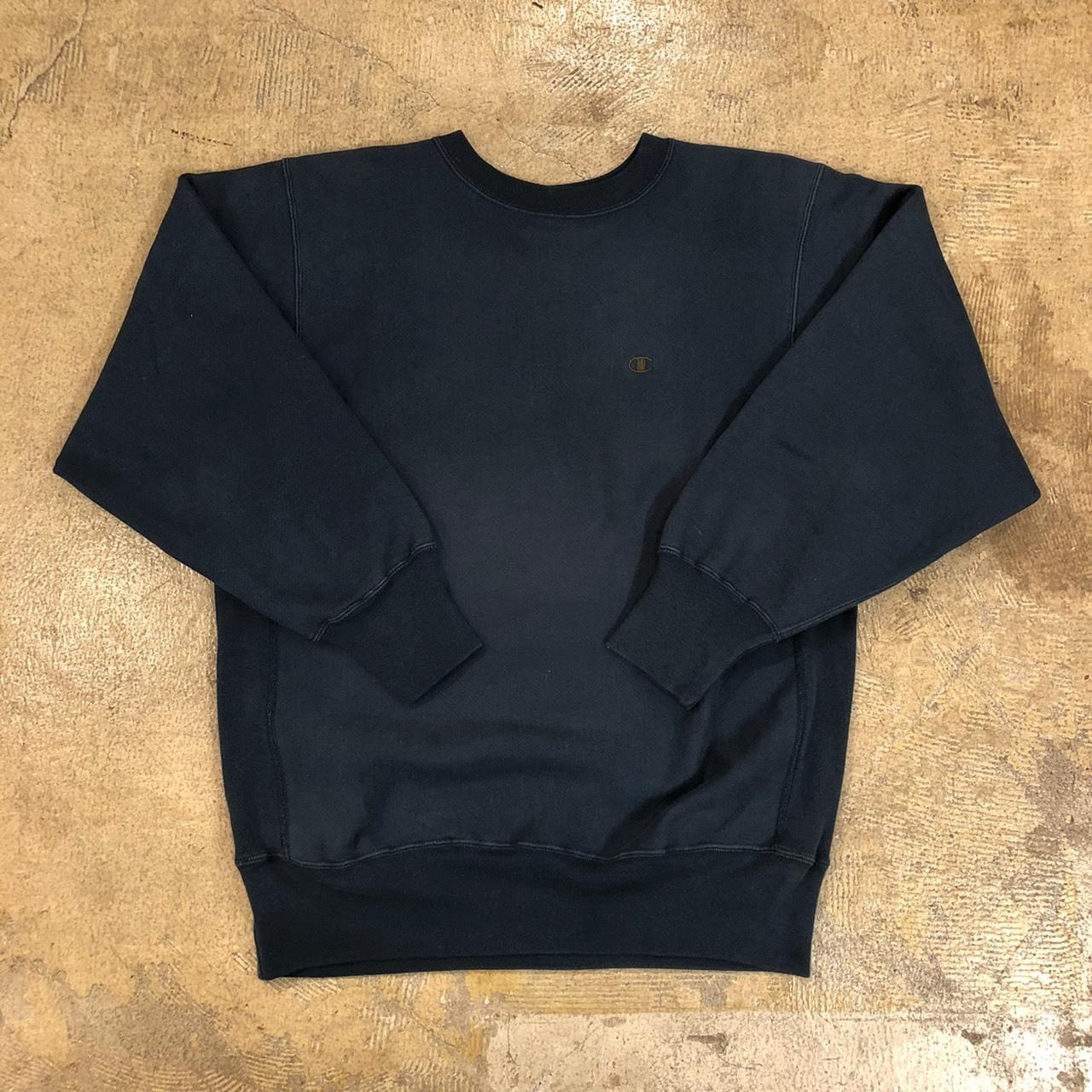 Champion R/W Sweatshirt Black ¥8,800+tax
