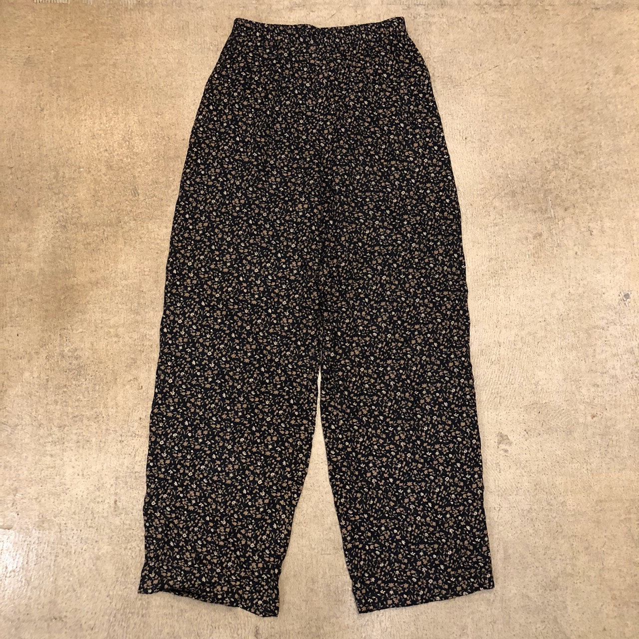 Floral Easy Pants lot.1 ¥5,700+tax