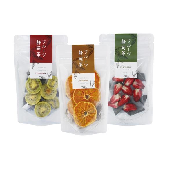 【静岡】フルーツ静岡茶3種  [Shizuoka Fruit Tea] 静岡のフルーツとお茶のベストマッチ! 静岡おみやプロジェクト開発商品