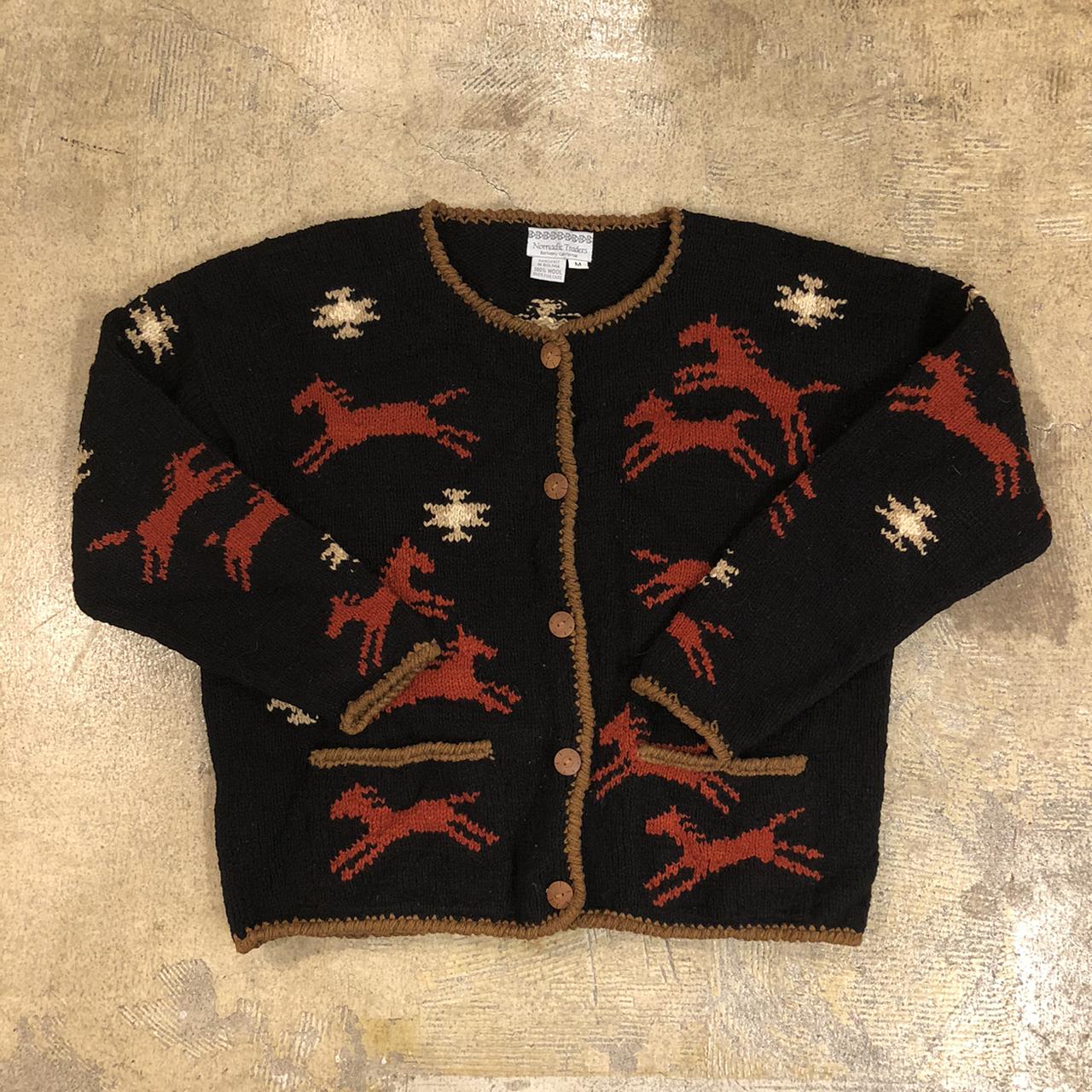 Nomadic Traders Native Horse Cardigan ¥8,400+tax