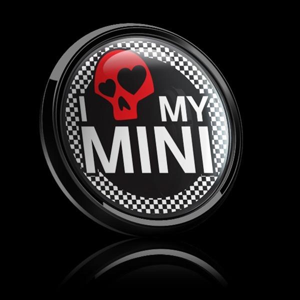 ゴーバッジ(ドーム)(CD0284 - I LOVE MY MINI 02) - 画像2