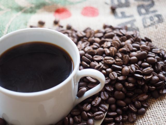 午后のコーヒー