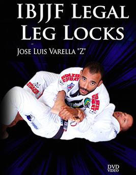 ホセ・バレラ IBJJFリーガルフットロック|ブラジリアン柔術教則DVD