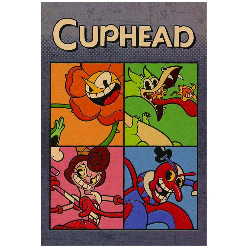 CUPHEAD ( カップヘッド ) ポストカード⑦ ボス / エンスカイ