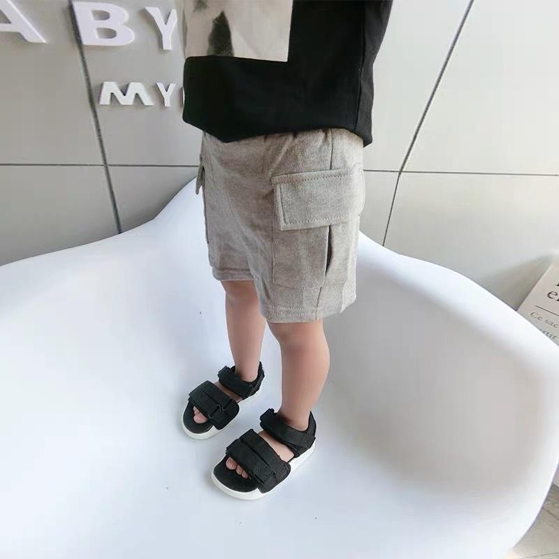 ポケットスウェットショートパンツ グレー【B053】