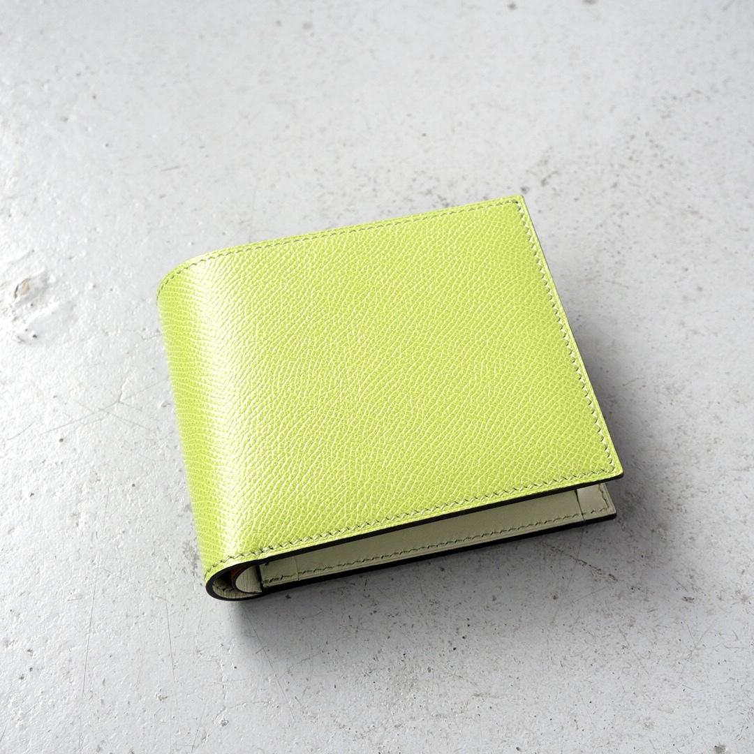 二つ折財布 <Regulus> ピスタチオ